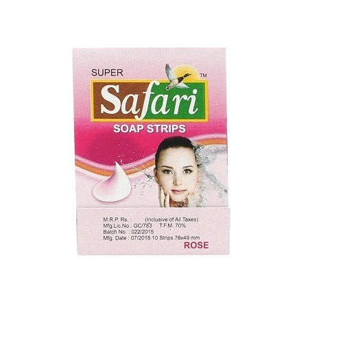 Safari Paper Soap Strips