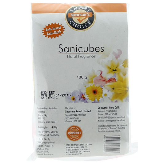 Sanicubes for Spencer