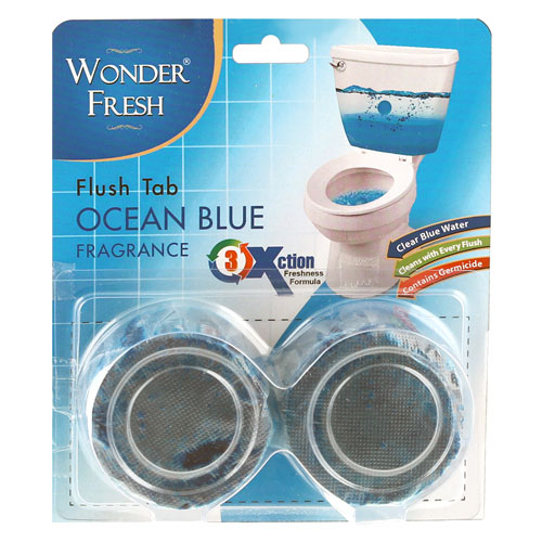 Toilet Flash Tab - Blue